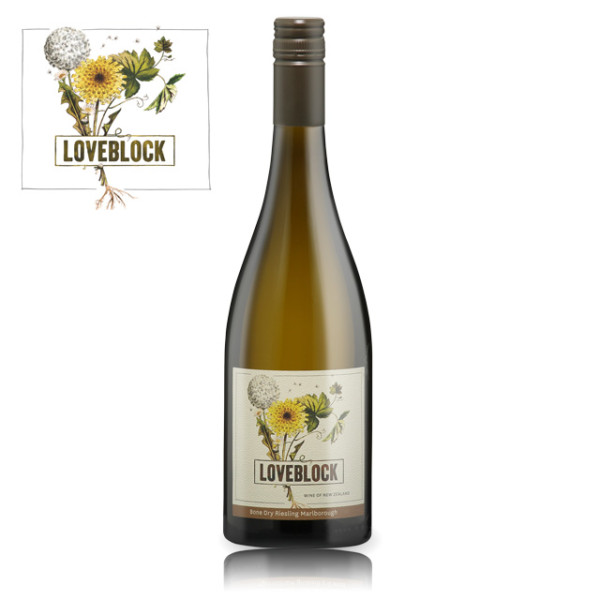 Loveblock Marlborough Bone Dry Riesling